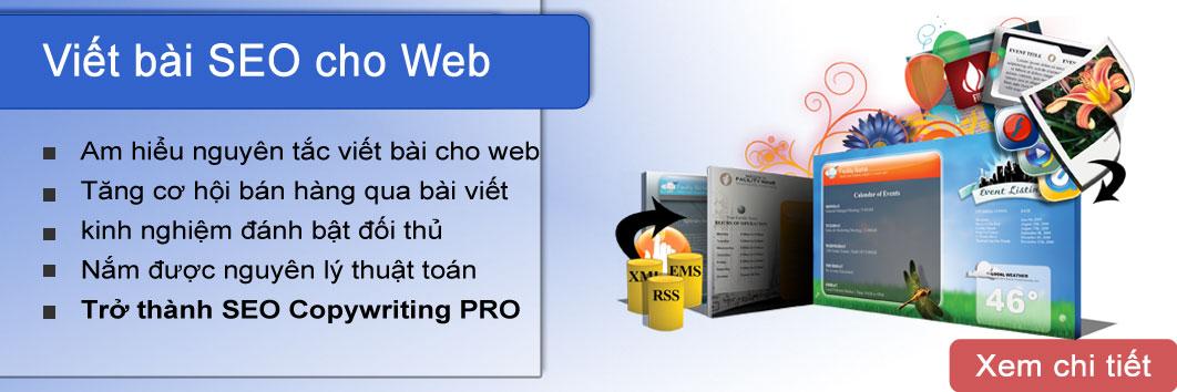 Khóa học viết bài seo cho website