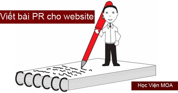 Cách viết bài PR cho website