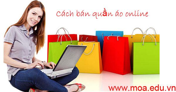 Cách bán quần áo online