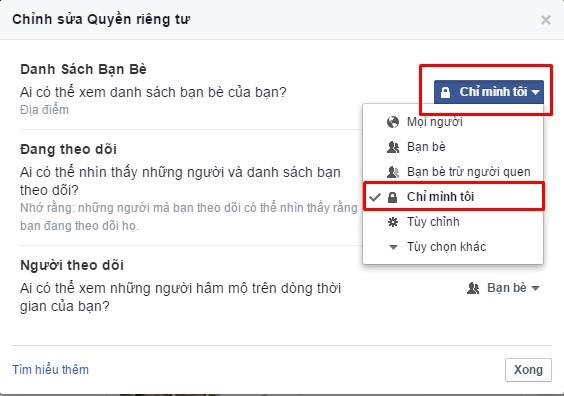 chan nguoi khac xem facebook 2