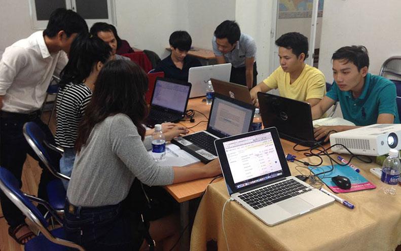 lớp học seo website tại moa