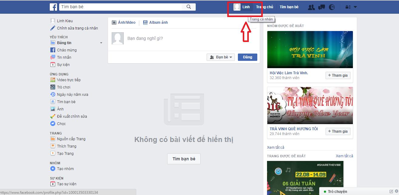 Thiết lập tài khoản cá nhân Facebook