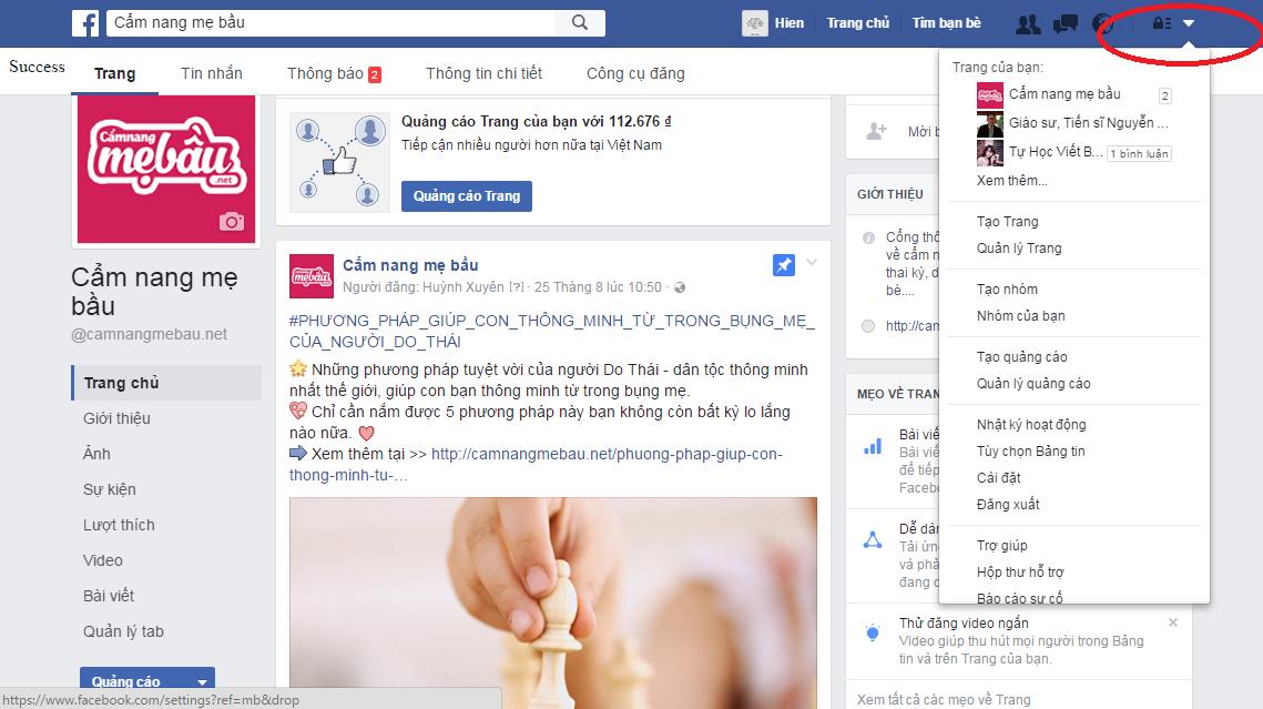 cách thêm người quản lý tài khoản quảng cáo facebook