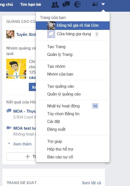 Cách đổi url của Facebook (tạo tên người dùng)