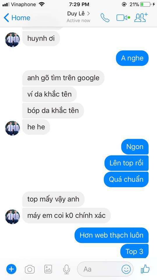 học viên từ khóa học seo website top 10 google