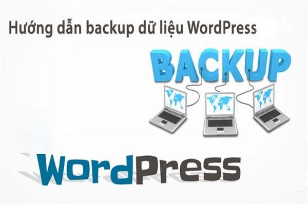 huong dan backup du lieu tren hosting trong wordpress