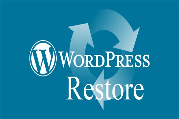huong dan restore du lieu tren hosting trong wordpress