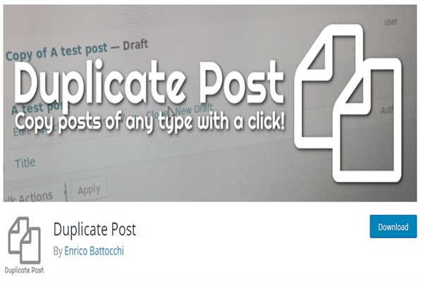 huong dan copy post page voi plugin duplicate post