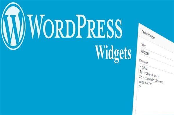 huong dan hien thi post page trong footer sidebar bang widget