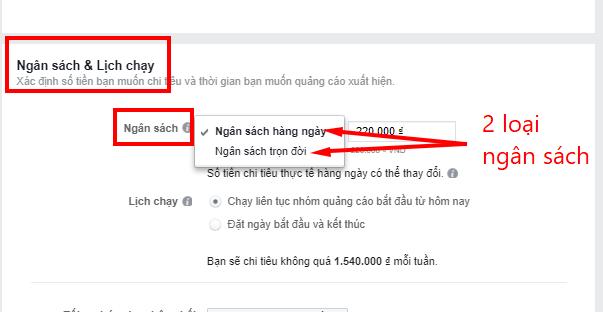 tự học chạy quảng cáo trên facebook lựa chọn ng