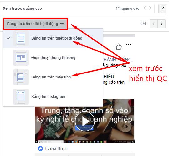 tự học chạy quảng cáo trên facebook xem quảng cáo trên các thiết bị