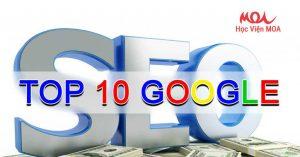 SEO Từ Khóa Lên TOP 10 Google